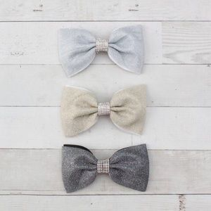 Other - NWT! Shimmer & Glitz Boutique Dressy Hair Bow